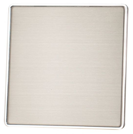G&H Screwless Plate Brushed Stainless Steel